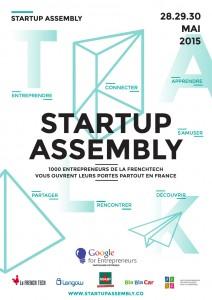 Startup Assembly, 2015 - Flyer