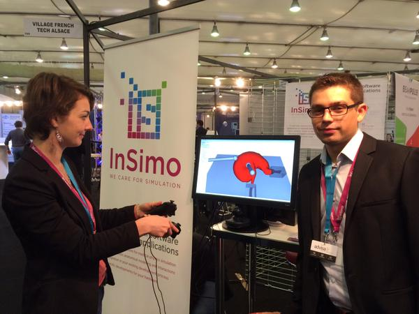 The team of InSimo participated to the event organized by i-NOVIA, 2015.