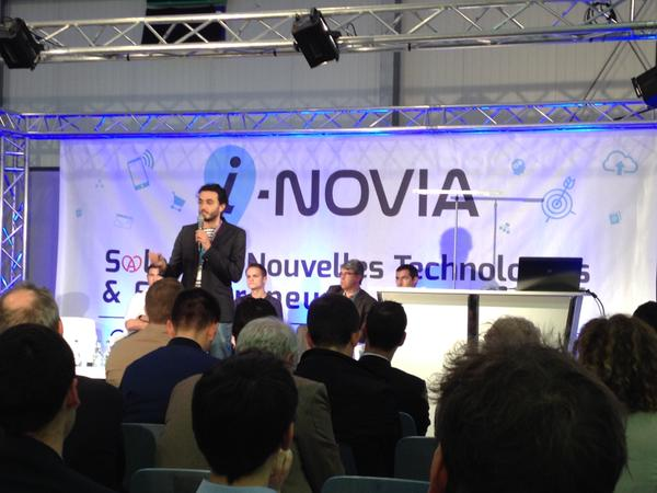 The COO of InSimo participated to the event organized by i-NOVIA, 2015.