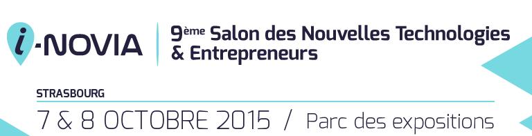 i-NOVIA: 9ème Salon des Nouvelles Technologies & Entrepreneurs, 2015.