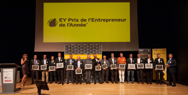 "InSimo has received the Born Global award at EY Entrepreneur of the Year Competition for the ""Grand Est"" region, 2015"