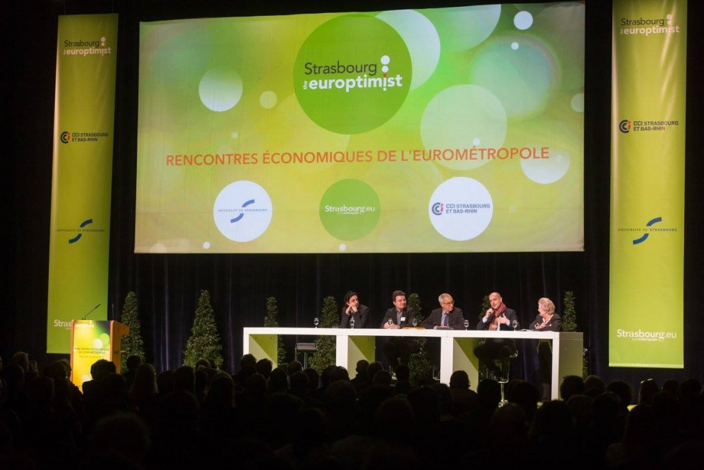 The CEO and the COO of InSimo participated to the economic forum of Strasbourg Eurometropole