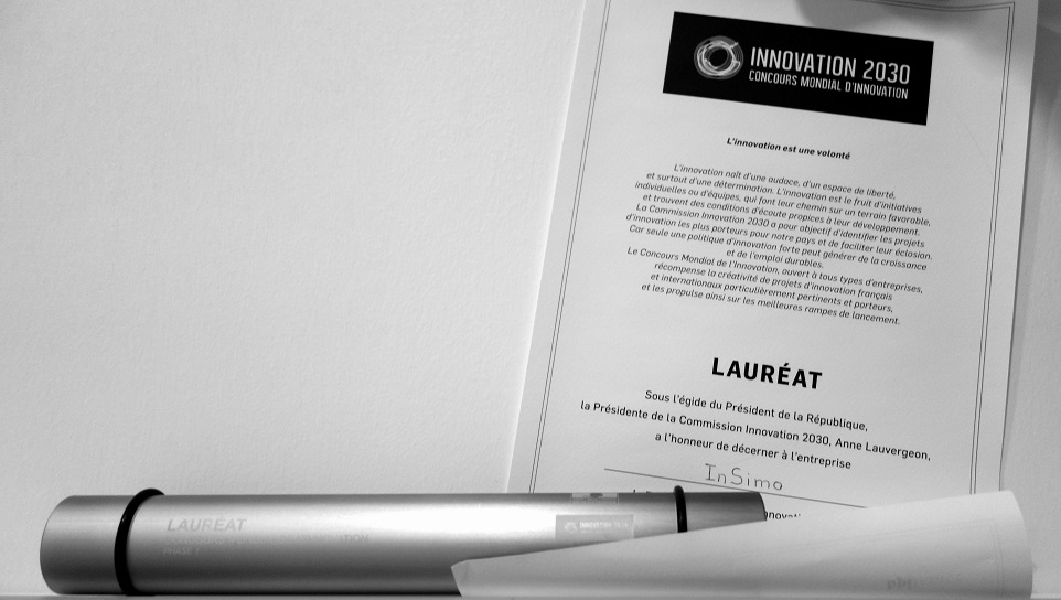 InSimo laureate of Innovation Challenge 2030