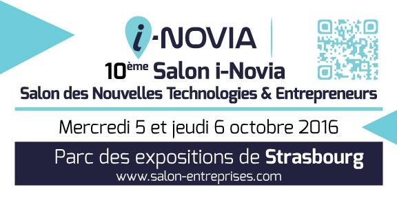 10ème Salon i-NOVIA: Salon des Nouvelles Technologies & Entrepreneurs, 2016