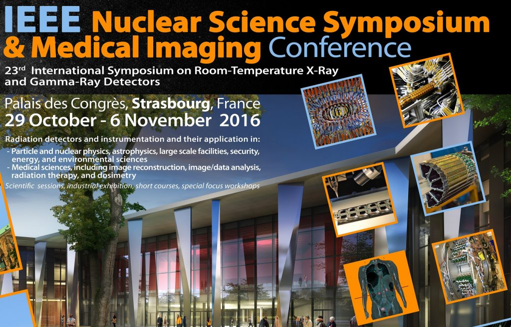 This edition of the symposium organized by IEEE (Institute of Electrical and Electronics Engineers) will contain a Medical Imaging Conference (MIC)