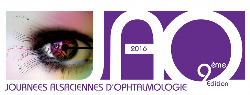Journées Alsaciennes d'Ophtalmologie 2016 - Banner