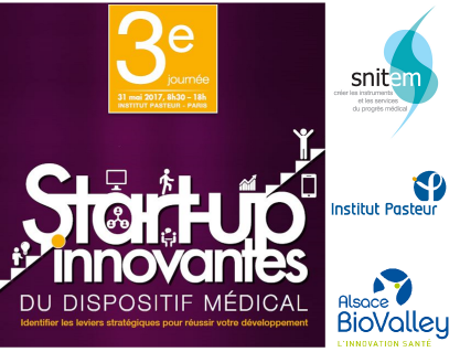 3ème Journée Start-up innovantes du dispositif médical - Logo