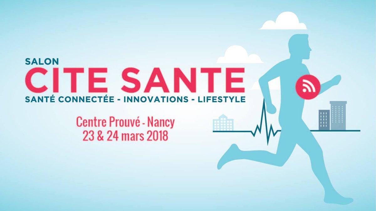 Cité Santé Nancy 2018 - Banner