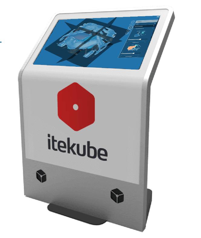 Itekube Touch Screen Display