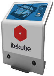 Itekube Touch Screen Display