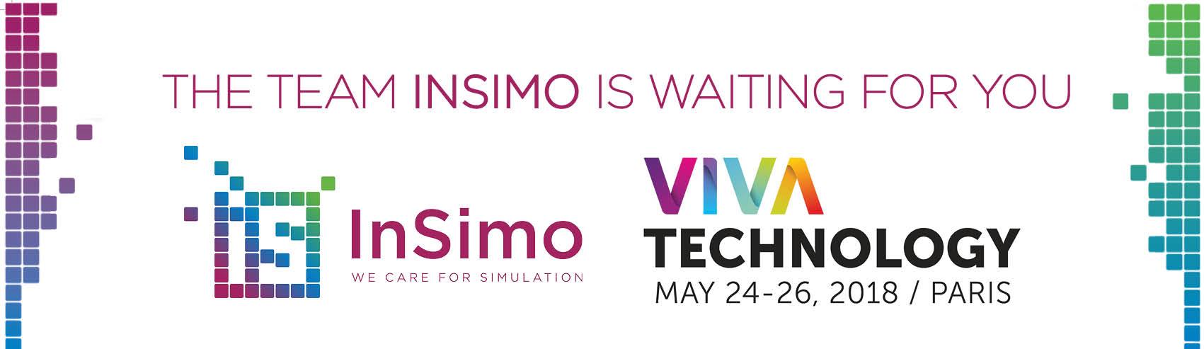 Viva Technology 2018 & InSimo - Banner