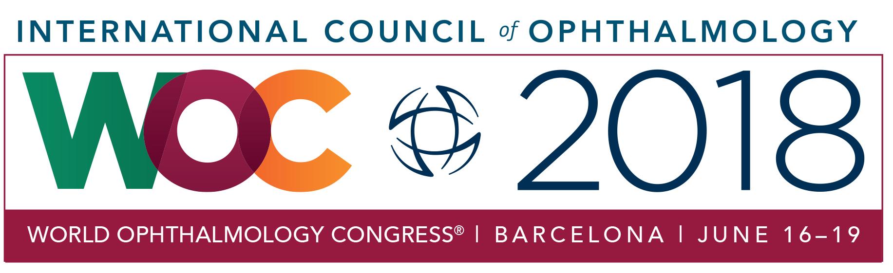 World Ophthalmology Congress 2018 - Logo
