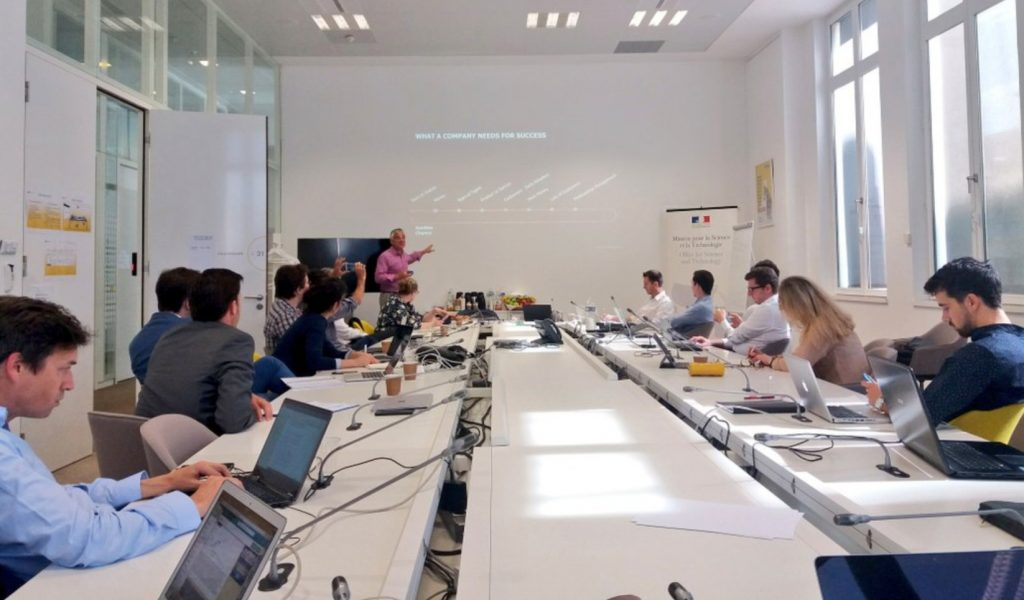 Training Seminar for the 16 Laureates of the 9th edition of the NETVA Program in Paris