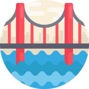 Golden Gate Bridge - Icon